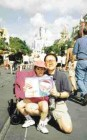 Cinderella's Castle at Disneyworld, FL, was the ideal spot for Dr. Sean Ko, Dr. Sylvia Lee, daughter Carolyn and son Jonathan to check out their issue of Oral Health.