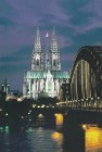 Cologne cathedral, classified as a world cultural heritage site by UNESCO.