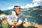 Dr. Bruno Vendittelli and four-month-old son Henry enjoy the beauty of Lake Como in Bellagio, Italy. Please remember, two hands on the Oral Health!