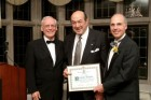 Dr. Norman Levine was inducted as Honourary Life Member