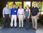 Participants in Vident's Milled Copings course