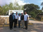 8. (l-r) Dr. Irving McKenzie, Dr. Gary Glassman, Alba Campusano from Denca Dental Supply Company, Steve Jones from Sybron Endo and Dr. Winston Grey.