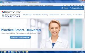 Henry Schein Business Process Solutions website