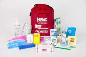 Henry Schein has joined 20 of its supplier partners to provide 3,000 Welcome Kits to American Cancer Society Hope Lodge facilities, which will then distribute the kits to people undergoing cancer treatment far from their homes. Supplier partners supporting the program include: 3M, AllWays, Clorox, Colgate, Coltene, Dentsply, GC America, Gojo, GSK, Heraeus, Hu-Friedy, Kerr Group, Medico, Medicom, Oral-B, Revive, Septodont, Sunstar, Team Technologies, and Water Pik. (PRNewsFoto/Henry Schein, Inc.)