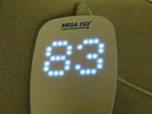 Reading from Mega ISQ by Megagen™.