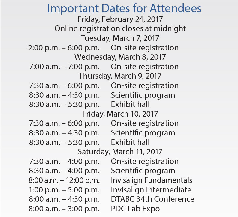 pdc-dates
