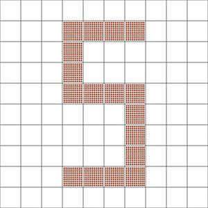 Smaller sized pixels can make finer resolution.