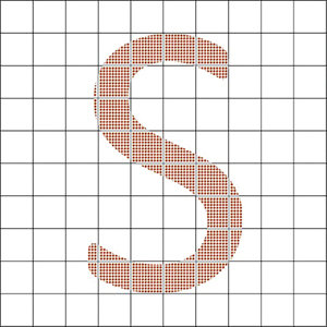 Interpolation can use smart algorithms (math) to smooth and fill in missing data.
