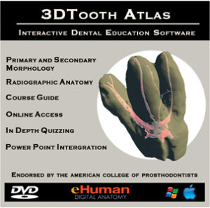 ToothAtlas is a useful virtual roadmaprehearsal before actually treating a specific endodontic tooth.