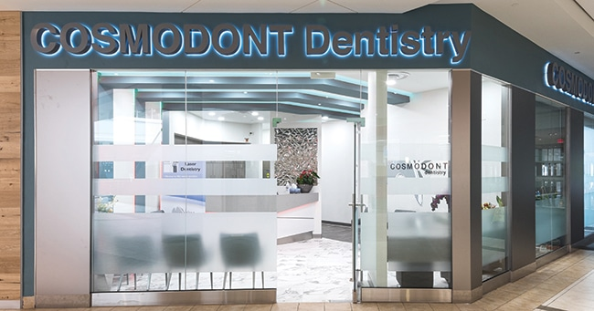 Cosmodont: Futuristic Dental Office with a Techno Flair
