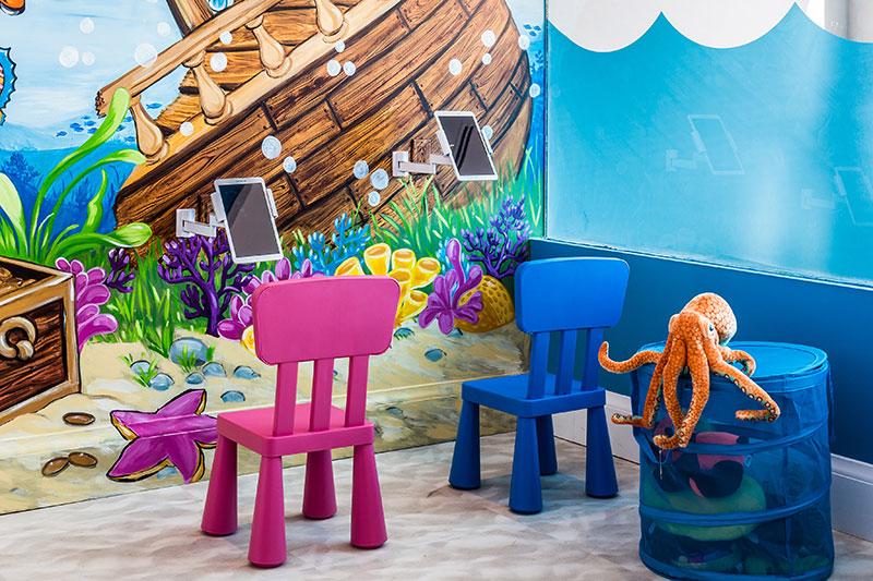 atlantis children's dentist office design
