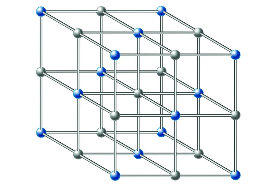Change in molecular structure.