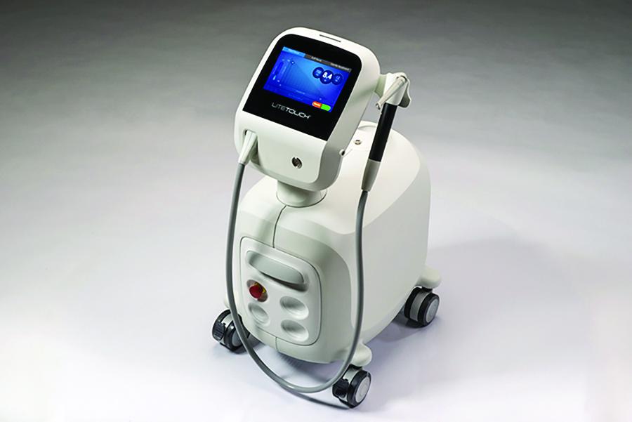Lite Touch Erbium YAG hard tissue Laser.
