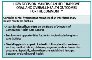 How Decision-Makers Can Help Improve Oral and Overall Health Outcomes for the Community