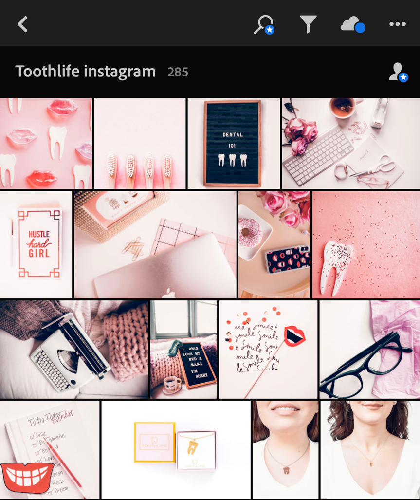 instagram feed branding