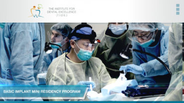 T.I.D.E Basic Implant Mini Residency