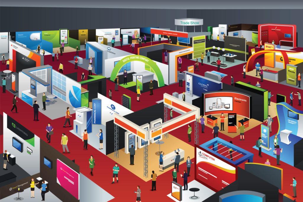 dental trade show floor plan
