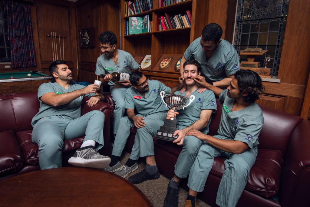 Schulich Dentistry's Movember team