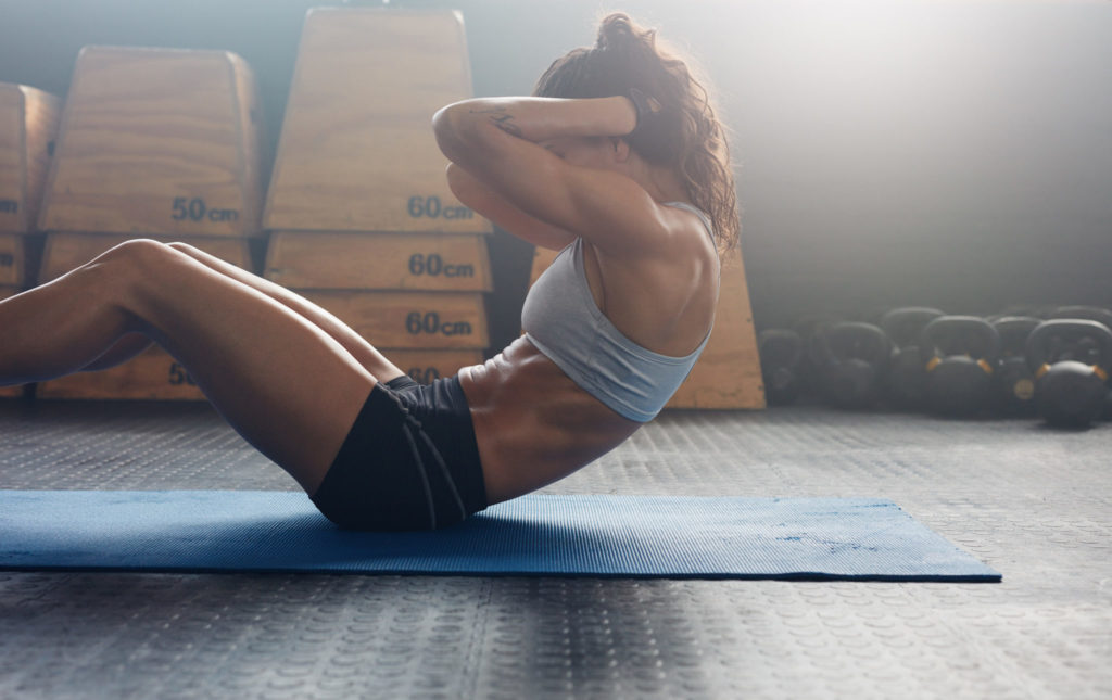 sit ups exercises