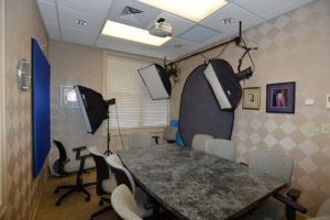 Photo studio/conference room of Fred Peck, DDS.
