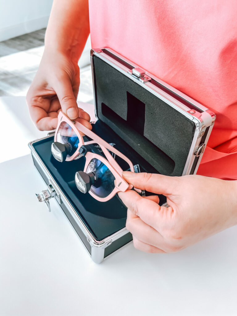 5. Always place your clean loupes in their respective case, avoid having them loose.