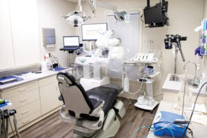 Surgical room and clinical setup.