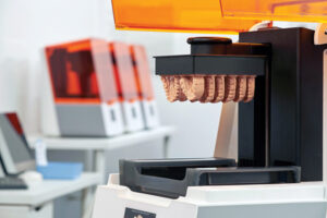 LFS 3D–Form 3B printer (Courtesy of Formlabs Dental).