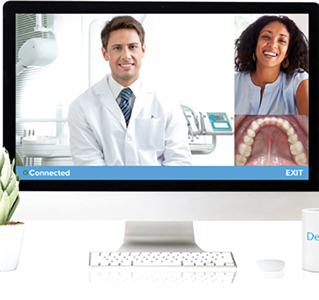 Teledentistry: dentist-patient live interaction at a distance.